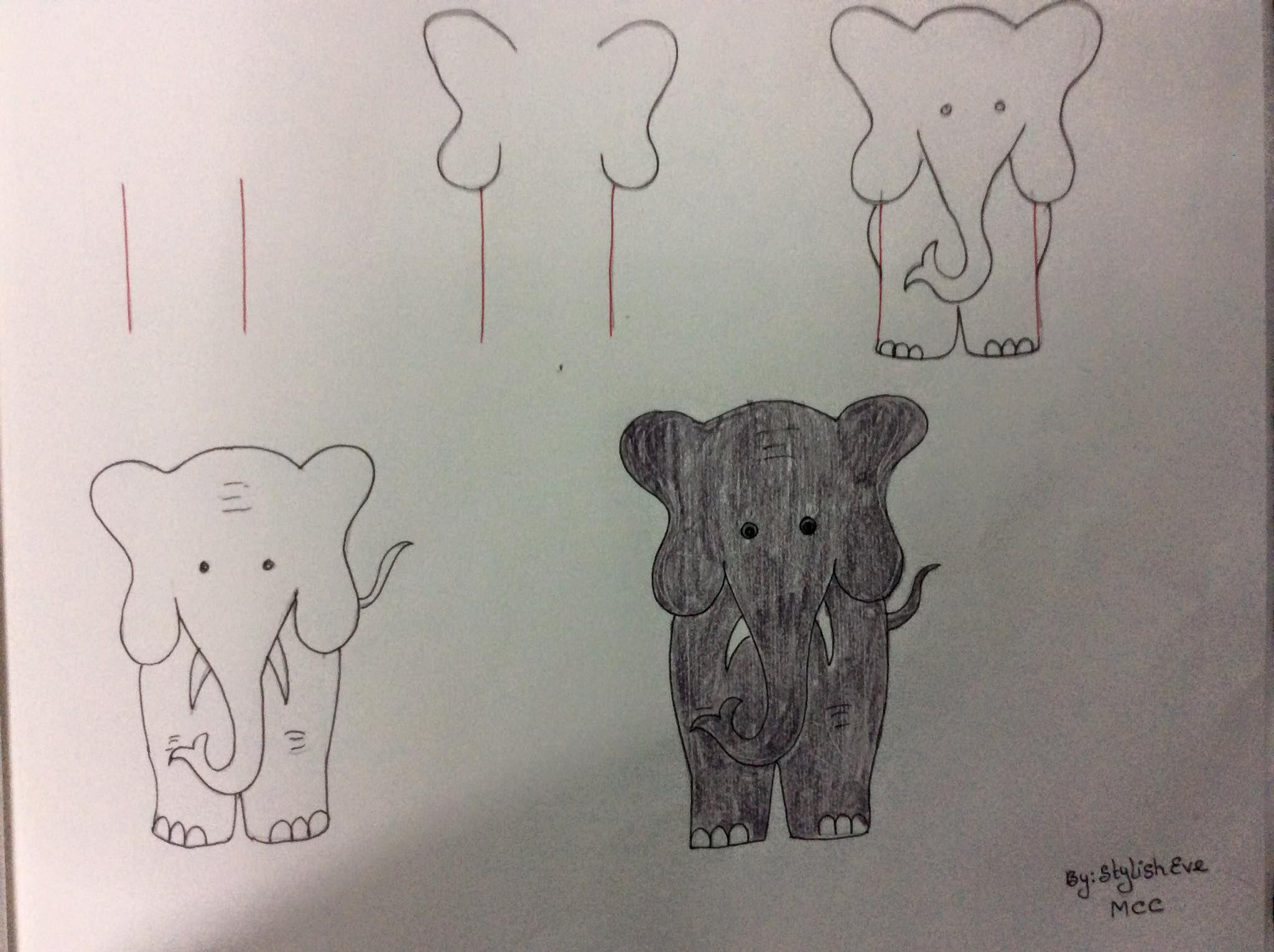 Enseña a los más peques a dibujar a partir de números y letras | Aprender a  dibujar animales, Dibujos fáciles, Dibujos de animales