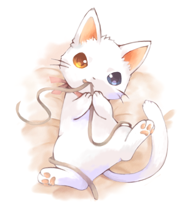 Cat Illustrations Neko Fluffy Art Beautiful Pictures Kitty Cats Random Stuff Kawaii Anime