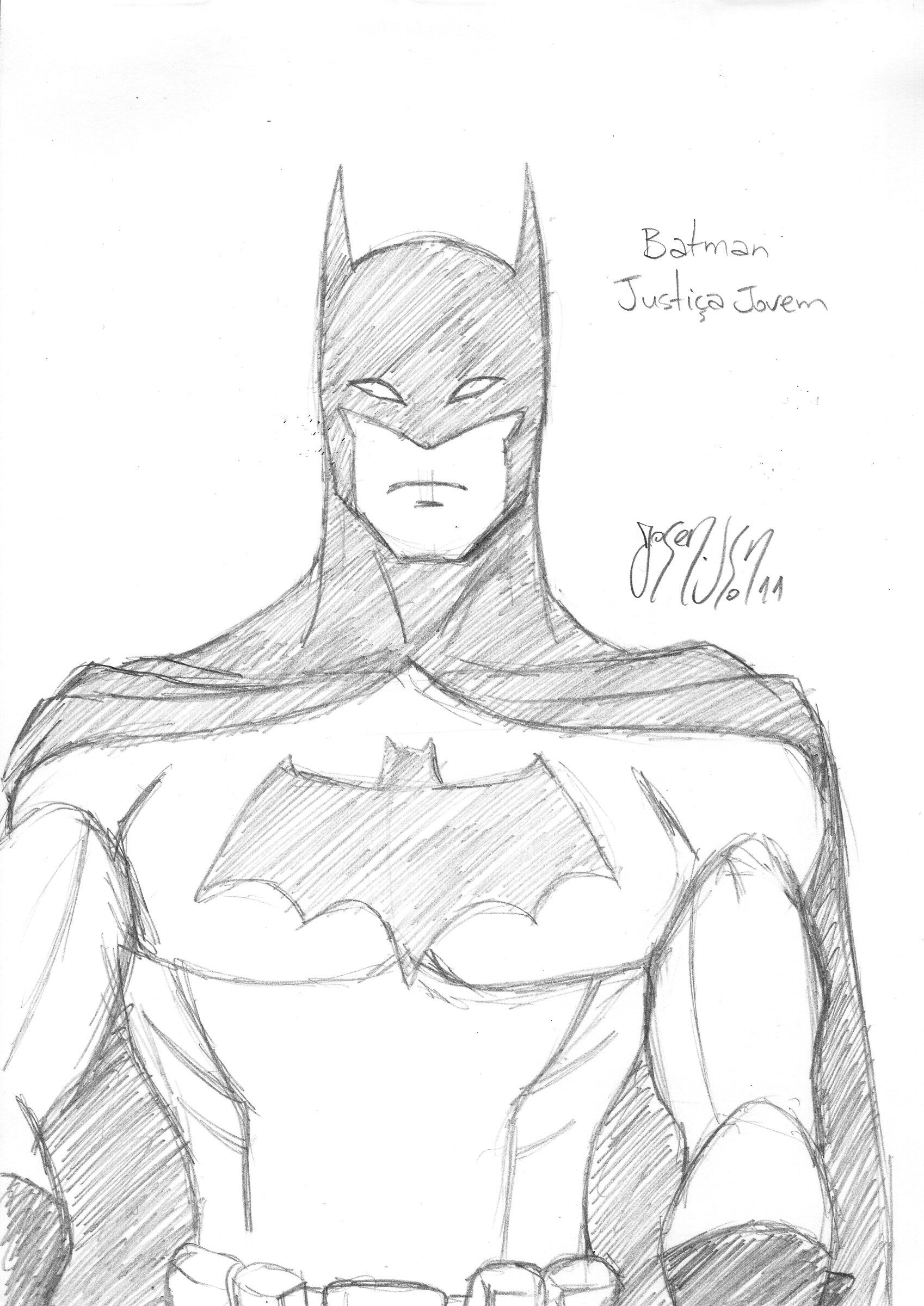 Batman And Robin From Young Justice Coloring Pages
