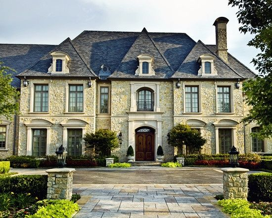 Beauty french country homes exterior home pinterest for French country house plans with porte cochere
