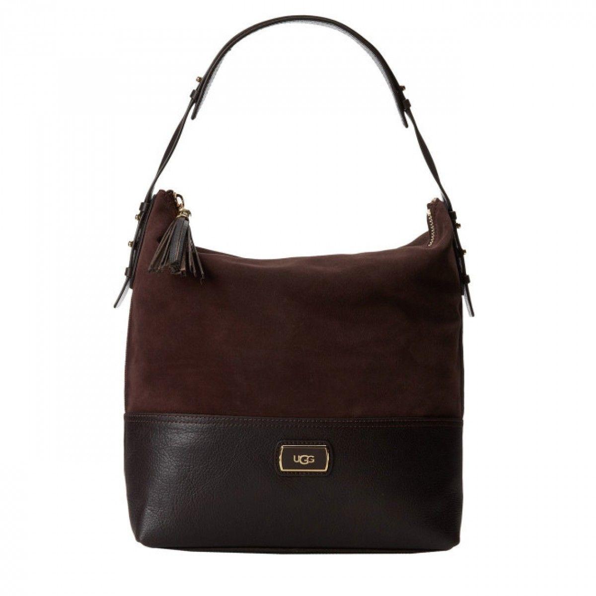 3507f216791ca UGG AUSTRALIA Handtasche Millie Hobo Kaffebraun