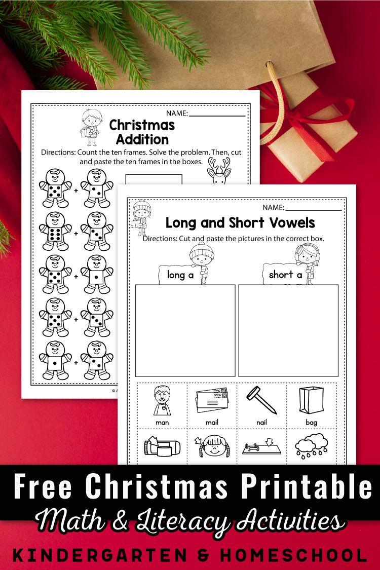 Free Christmas Worksheets For Kindergarten Christmas Activities For K Christmas Math Worksheets Kindergarten Christmas Activities Kindergarten Worksheets [ 1125 x 750 Pixel ]