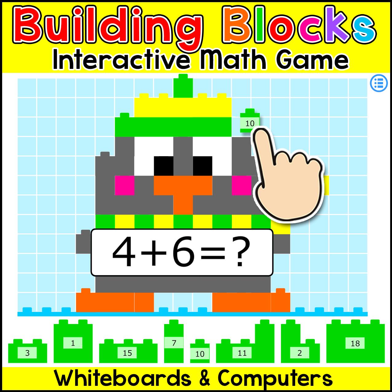 Building Blocks Math Game