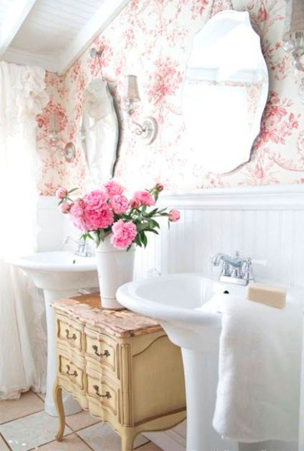 Image result for shabby chic bathroom | ♢Shabby Chic Bathroom ...
