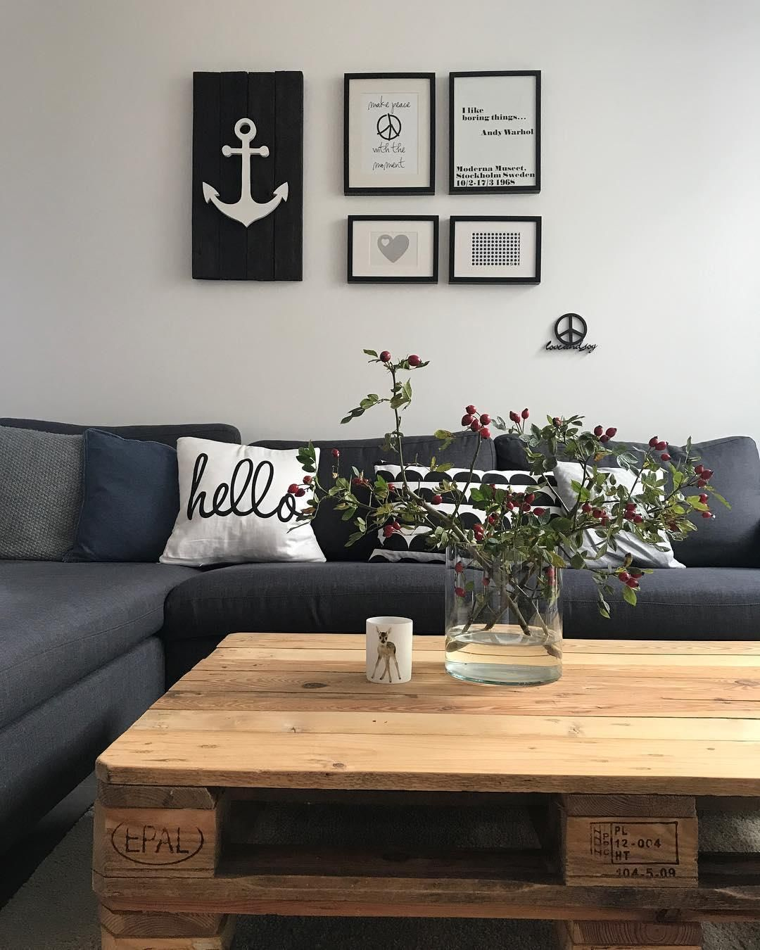 Kissenhülle Hello | Hygge, Living rooms and Interiors