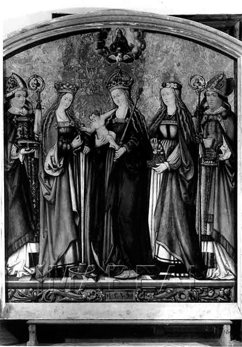 Hl. Ulrich; Hl. Katharina; Hl. Maria mit Kind; Hl. Dorothea; Hl. Martin 1534-1534; Bregenz; Österreich; Vorarlberg  http://tarvos.imareal.oeaw.ac.at/server/images/3005692.JPG