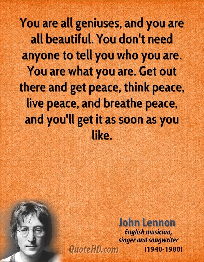 Johnlennonquotes John Lennon Quotes Everything I Love John