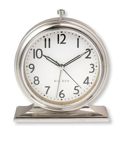 ll bean 1931 big ben alarm clock clocks bedroom retreat pinterest big ben alarm clocks. Black Bedroom Furniture Sets. Home Design Ideas