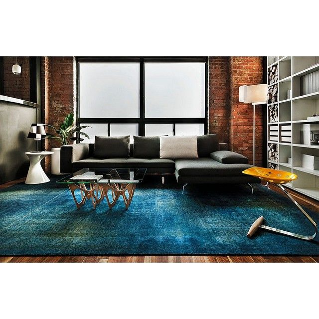 10+ Stunning Royal Blue Rugs For Living Room
