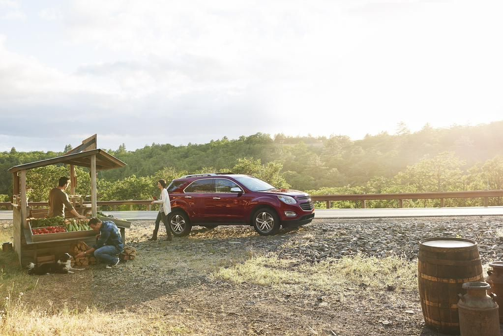 The Canadian Made 2016 Equinox Gives You Impressive Fuel