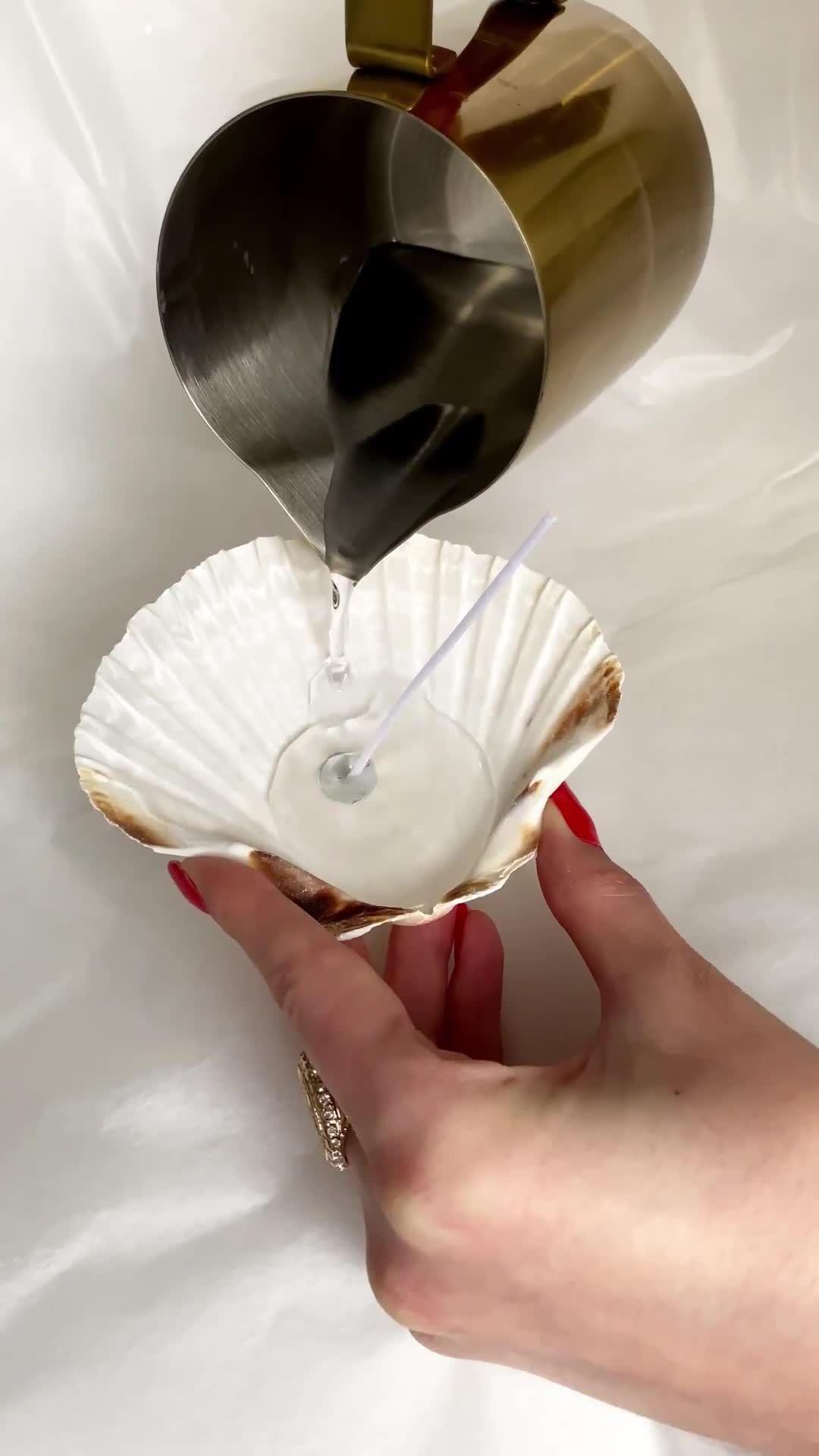 Odore di mare: candele fai-da-te
