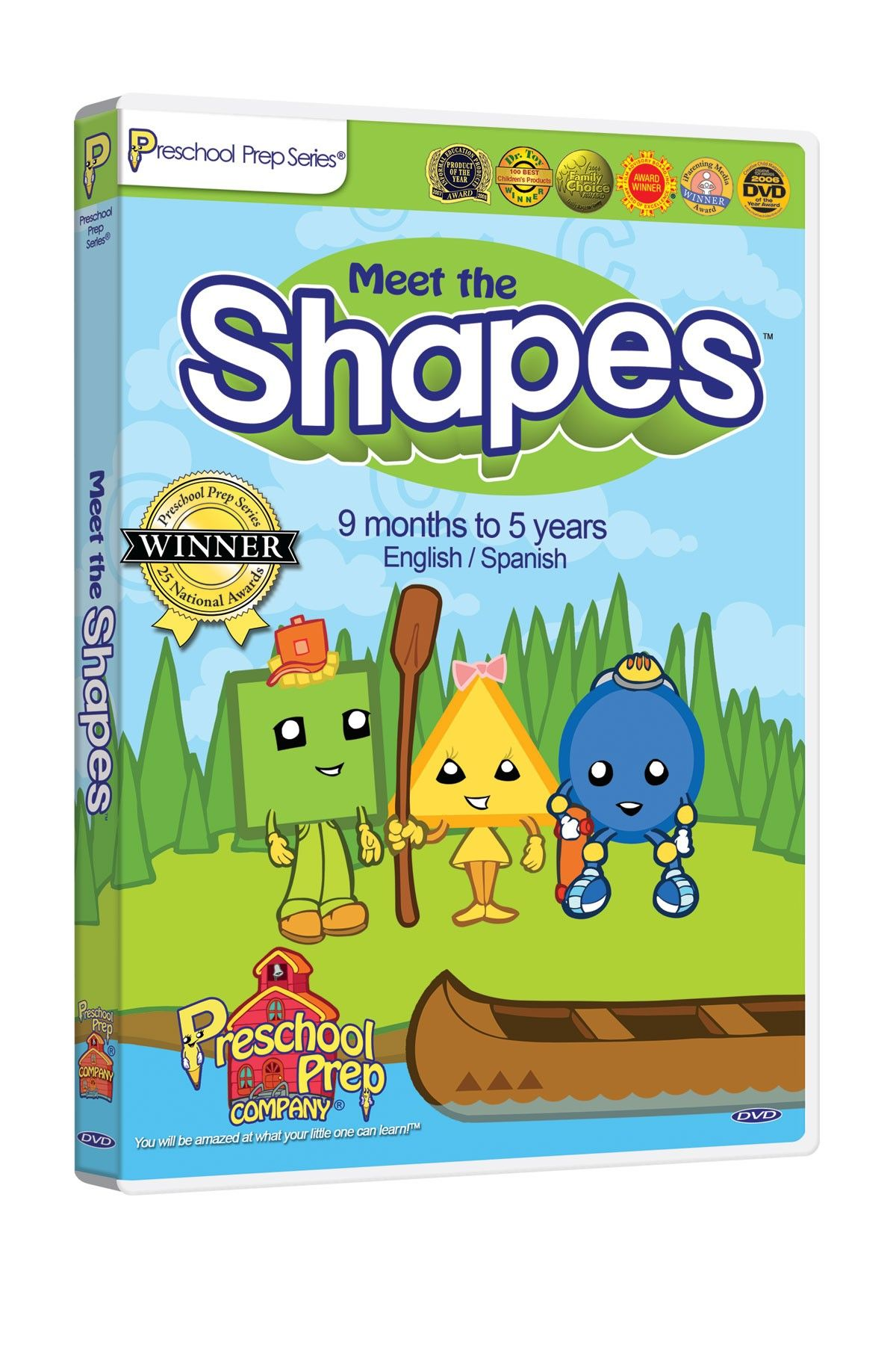 Preschool Prep Company Meet the Shapes DVD | Ajin | Pinterest ...