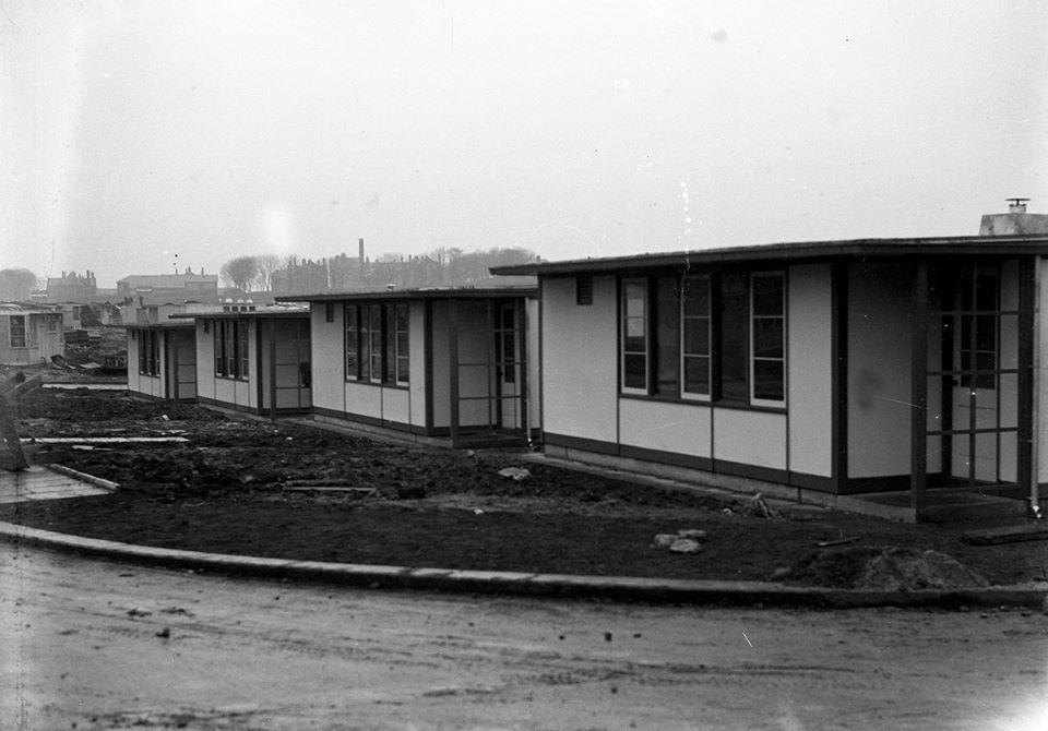 Grindon In 1945 Sunderland Echo Sunderland Echo Victorian Buildings Prefab