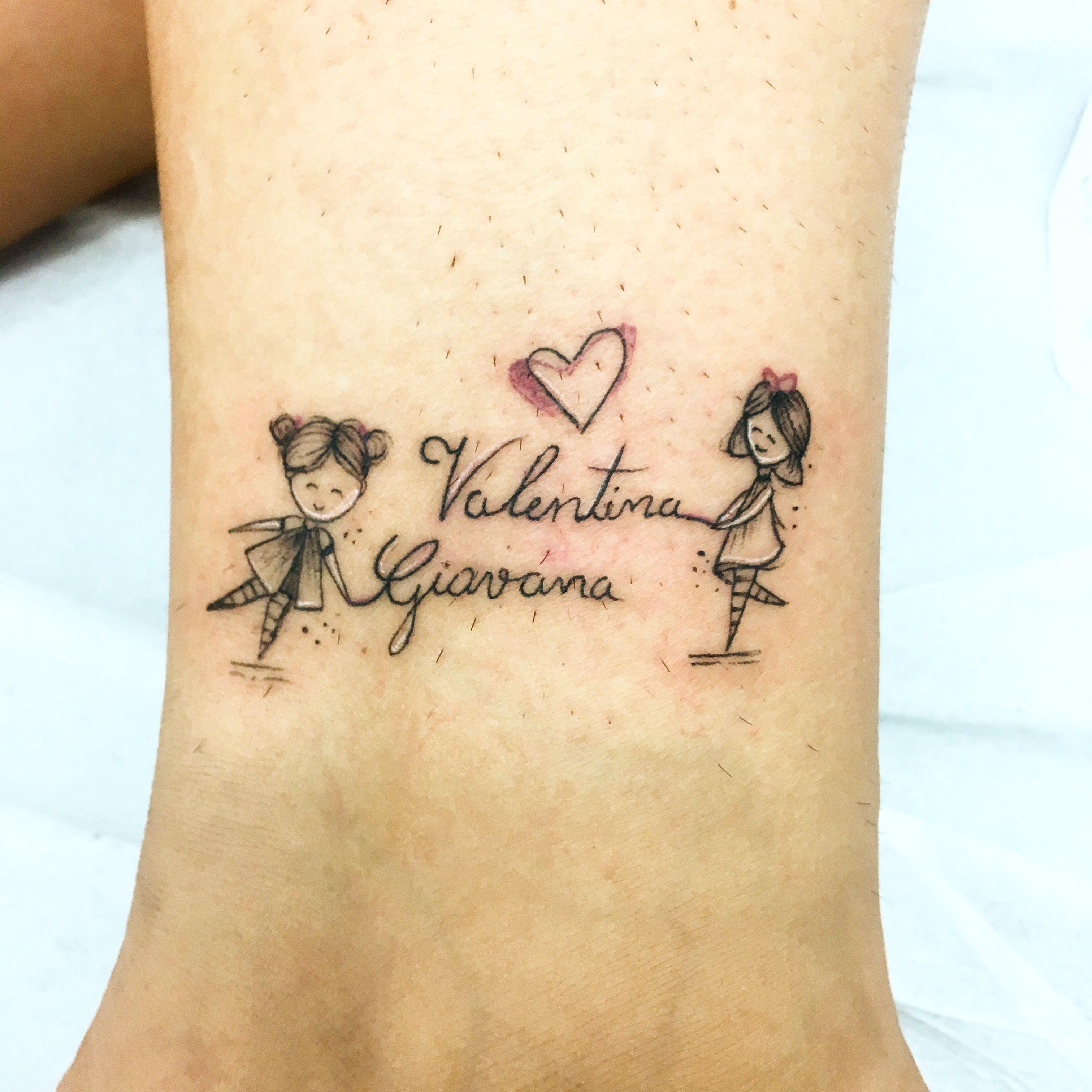 Tatuagens Femininas Delicadas De Mae E Filha