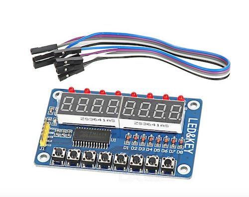 Arduino TM1638 Display Module : Buying Basics | Technology