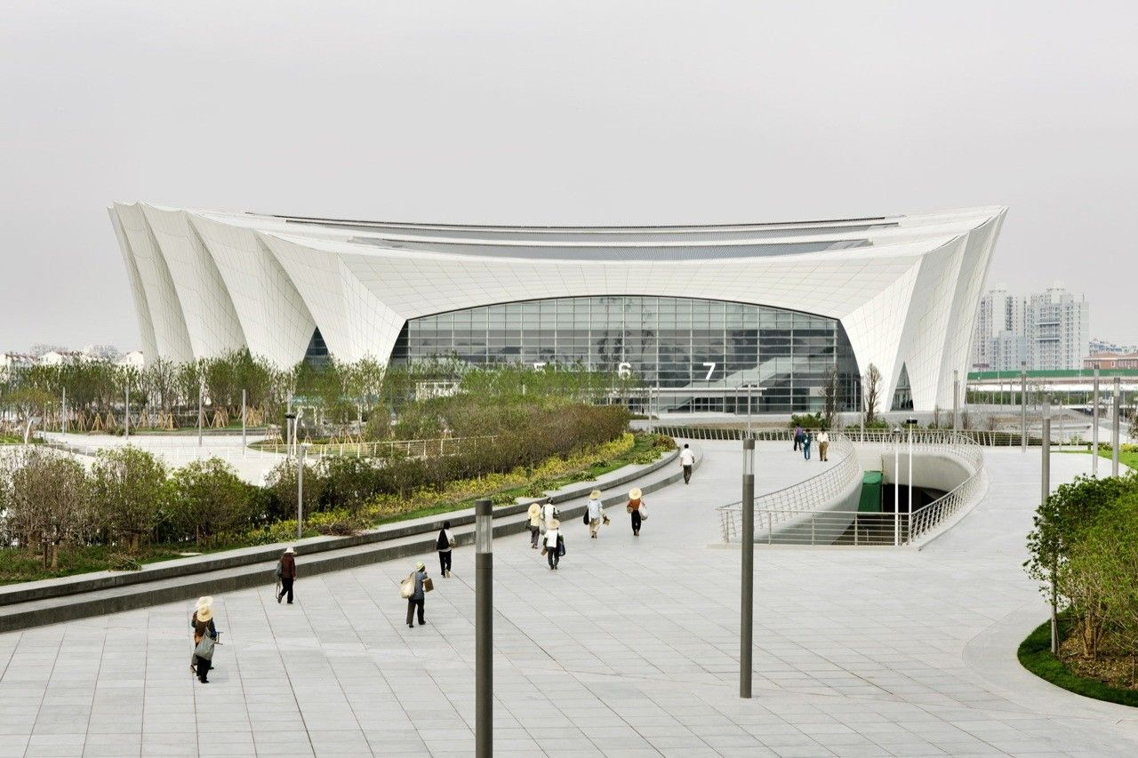 Gallery   Shanghai Oriental Sports Center / Gmp Architekten   6