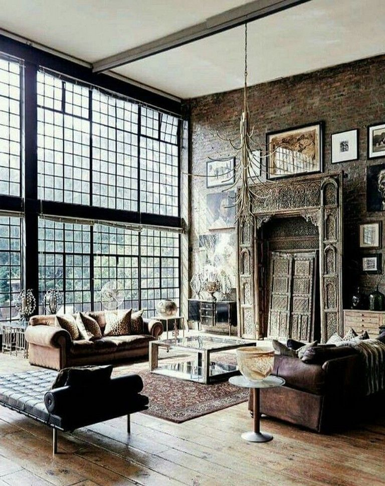 24 Cozy Masculine Living Room Design Ideas With Rustic Style Livingroomideas Livingroomdecorations L Loft Design Masculine Living Rooms Vintage Living Room