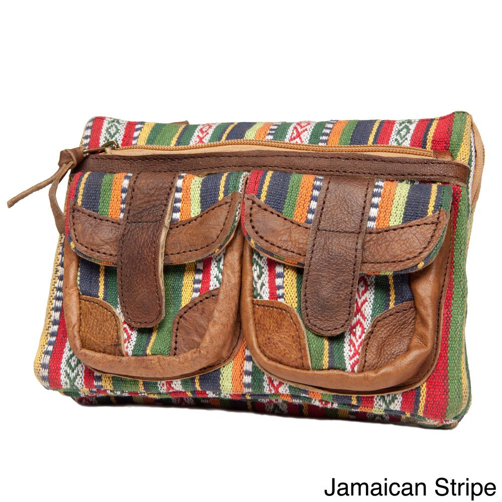 5949c317ef Annapurna Crossbody Yak Leather Bag (Nepal) - Overstock™ Shopping - Top  Rated Leather Bags