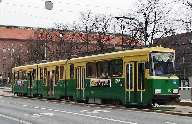 HKL 80, Haapaniemi, linja / route 6, 28.04.2008.