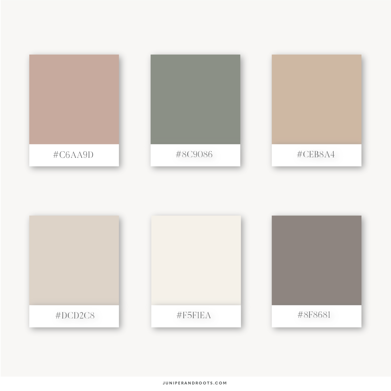 5 earth toned minimalistic colour palettes juniper roots squarespace designer earthy color palette pantone colour palettes color palette design color palette pantone colour palettes