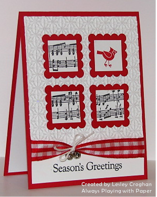 Handmade christmas card white and red with black inking four handmade christmas card white and red with black inking four m4hsunfo