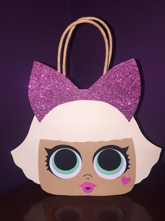 Lol Surprise Doll Party Favor Gift Bag Goodie Bags Birthday