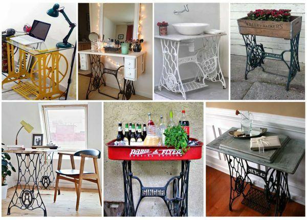 alte m bel neu gestalten die alte n hmaschine als vintage m bel inneneinrichtung und deko. Black Bedroom Furniture Sets. Home Design Ideas