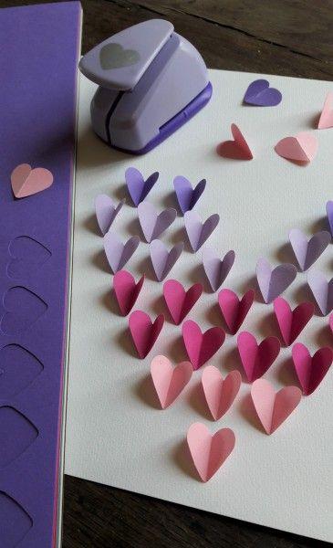 Carte Coeur Papillons Idee Cadeau Fete Des Meres Original