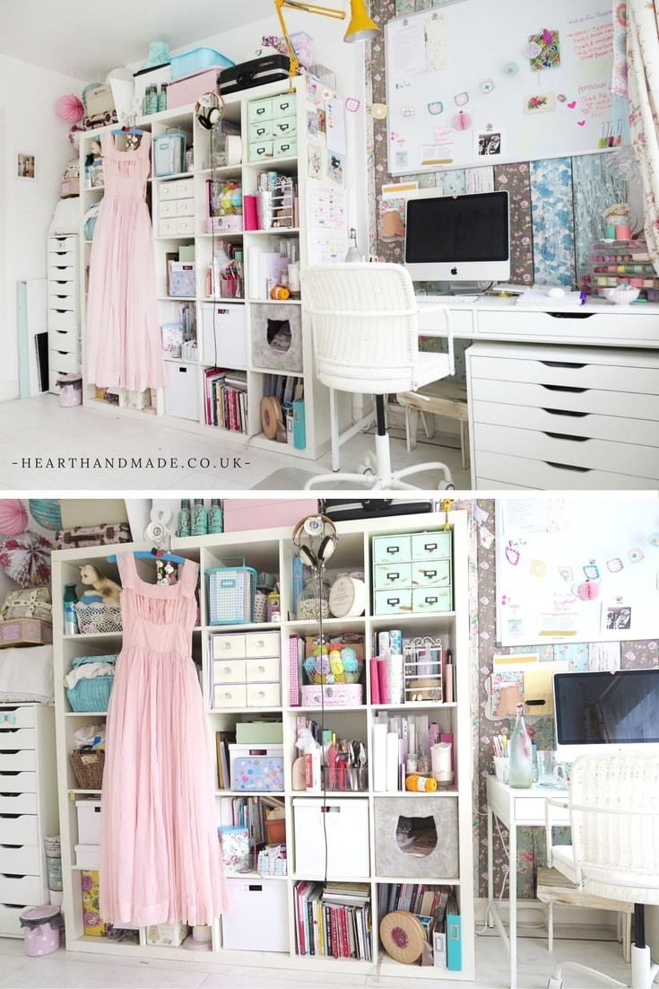 How To Rock A Creative Craft Room Guest Room Combo Craft Rooms