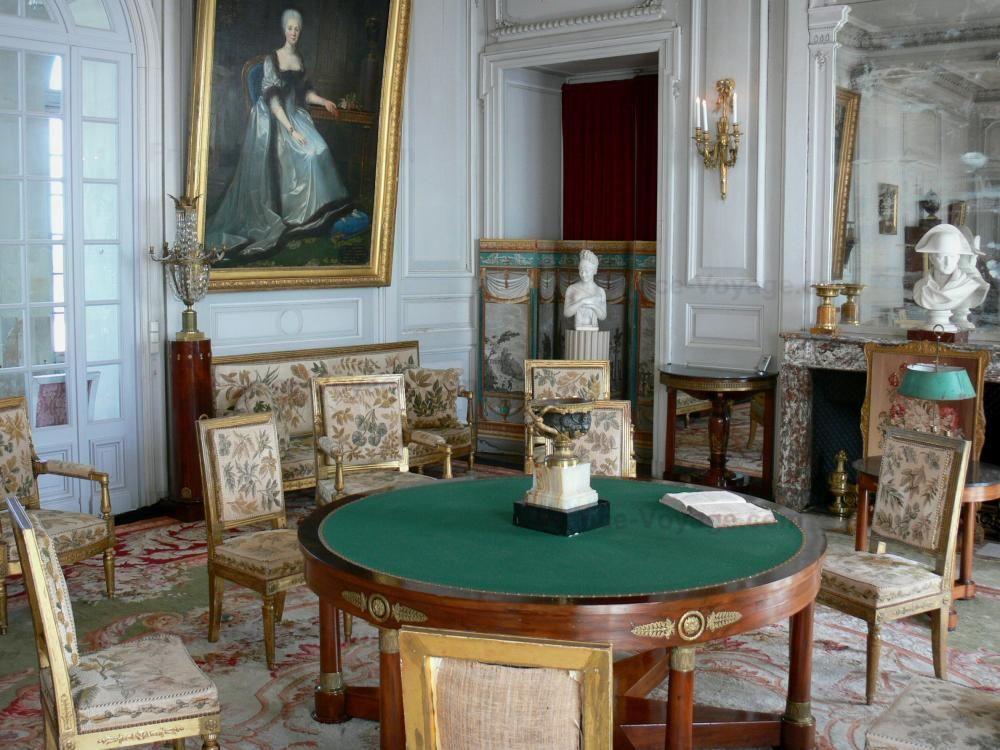 El castillo de Valençay - Castillo de Valençay: Dentro del castillo: un gran salón