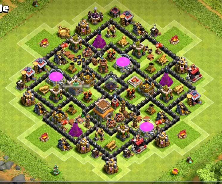Defense Best Base For Th 8 11