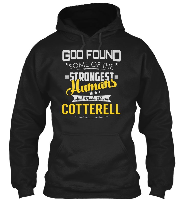 COTTERELL - Strongest Humans #Cotterell