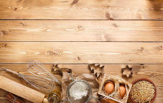 Ingredients For Baking Food Photography Background Food Background Wallpapers Baking Wallpaper