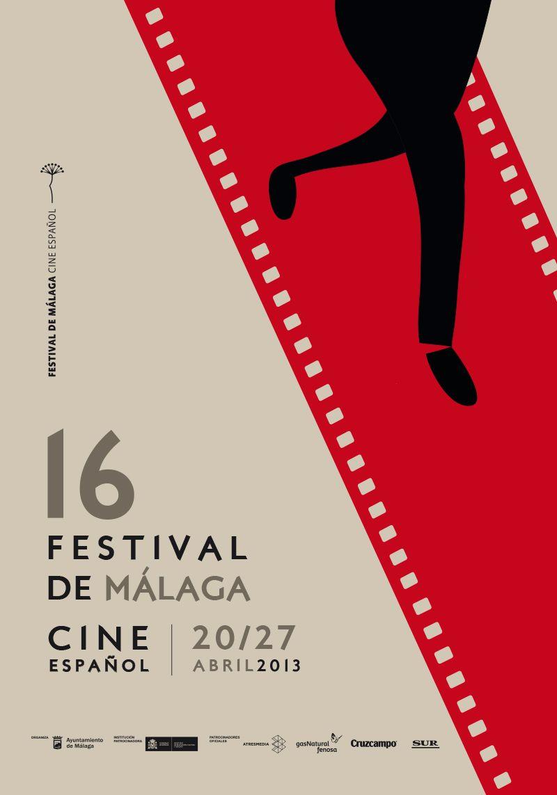 Cartel Festival Cine Malaga 2013 Film Festival Poster Festival Posters Festival Design