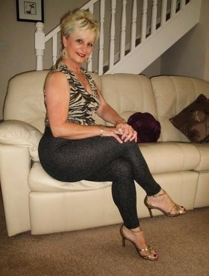 Mature women caned