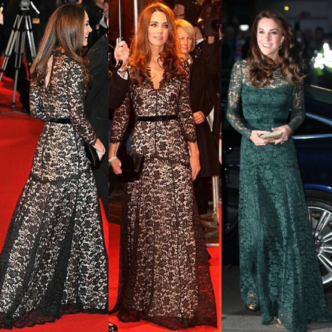 Lace dress kate middleton  Tonightus dress is really similar as the other temperleylondon she