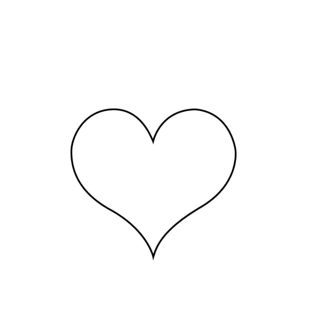 Herz zeichnen lernen - Die beste Schritt-für-Schritt