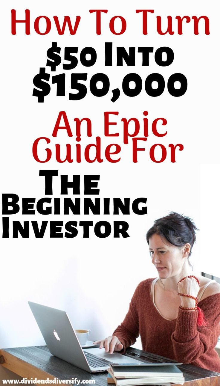 DIY investing doesn't have to be difficult. Here's a simple way to make money and earn passive income through investing without risking big financial losses over the long run. Anyone, even a beginning investor, can participate in the stock market to turn $50 into $150,000. #money #finance #investing #investingforbeginners #invest #investments #investforbeginners #wealthbuilding #dividendinvesting #passiveincome