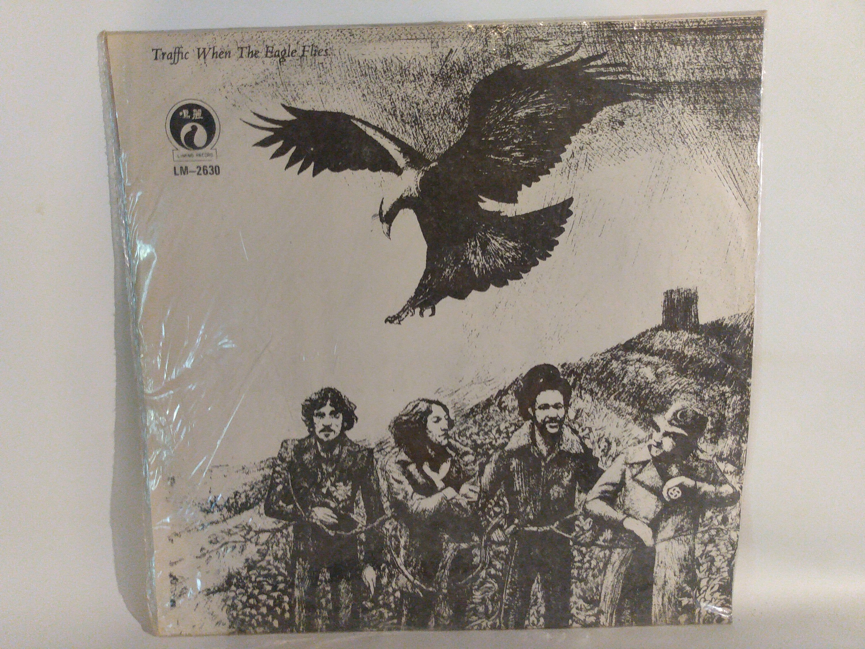 Traffic When The Eagles Fly 1974 Liming Records Taiwan Import Excellent Vinyl By Theposterposter On Etsy In 2020 Vinyl Records Records Eagles