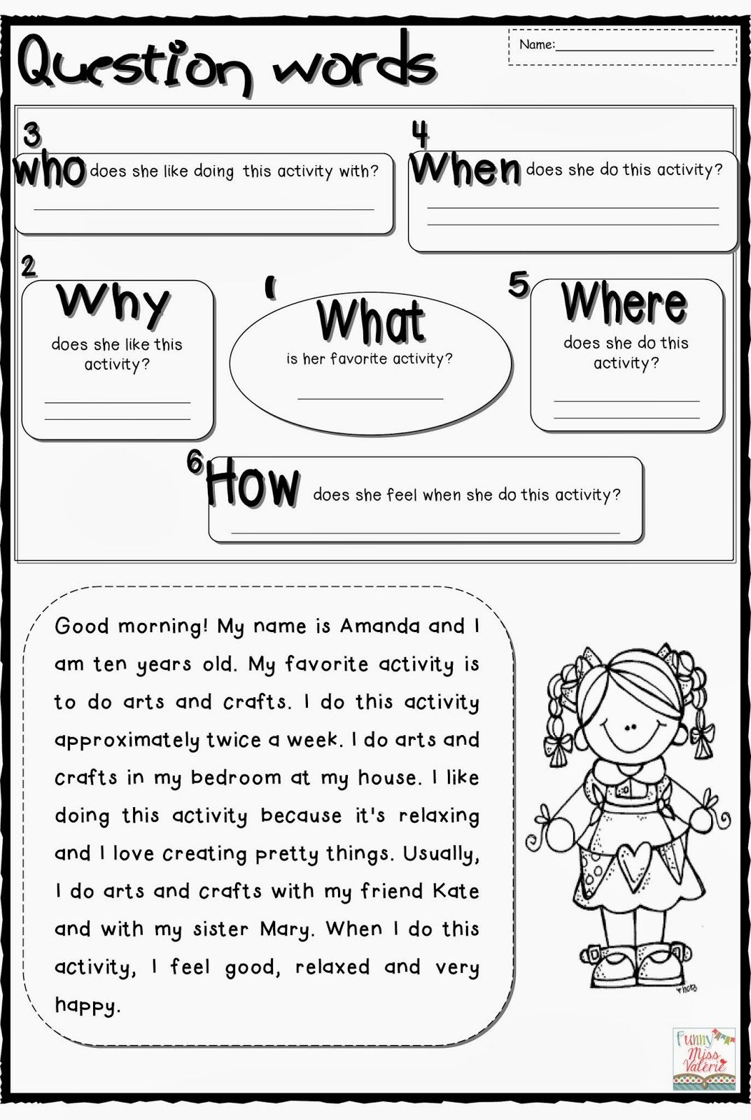 medium resolution of all-students-first-grade-worksheets-gallery-photos-my-favorite-activity…    Reading comprehension lessons
