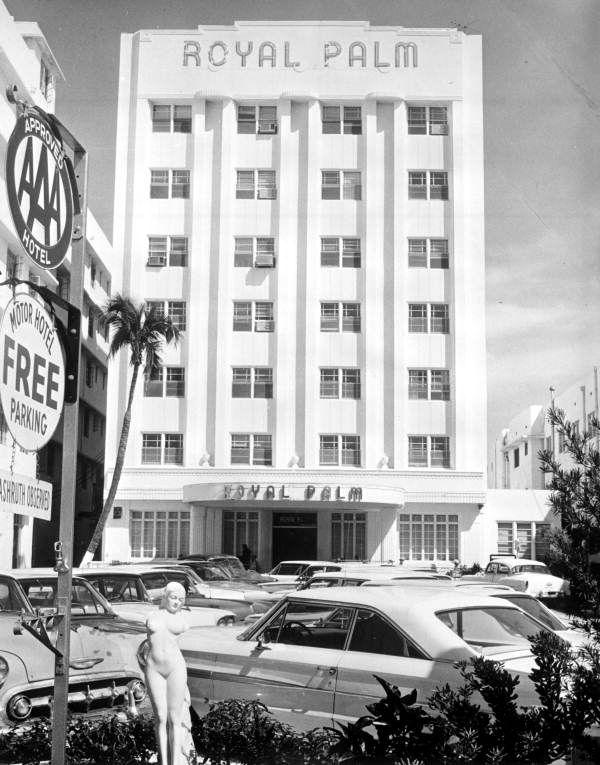 Royal Palm Hotel Miami Beach Florida