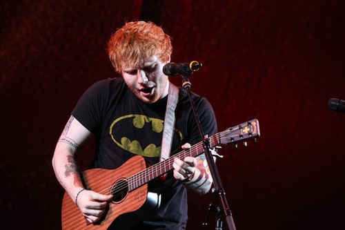 He's a fan of stubble - for a reason. | 21 Cute Facts You Really Ought To Know About Ed Sheeran