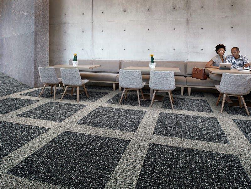 redirecting carpet tiles