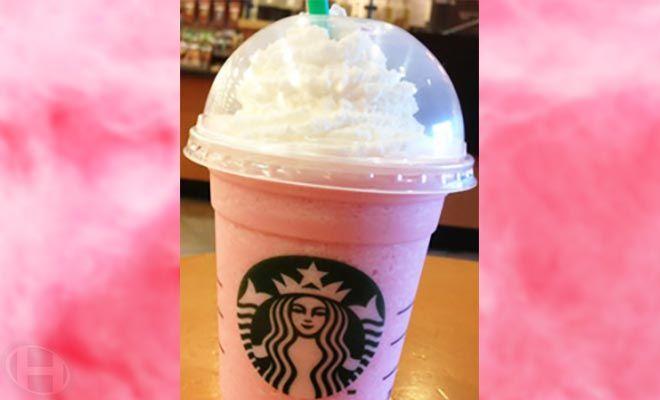 Starbucks Cotton Candy Frappuccino Recipe Secret Menu Starbucks Secret Menu Starbucks Secret Menu Items