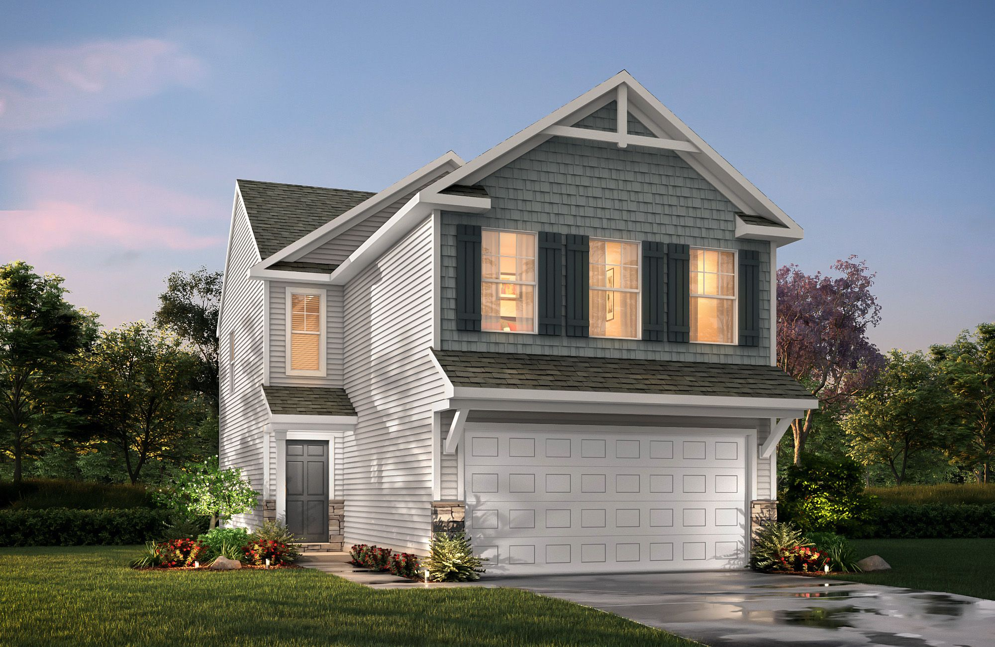Baxter I D2 True Homes House Elevation House Styles