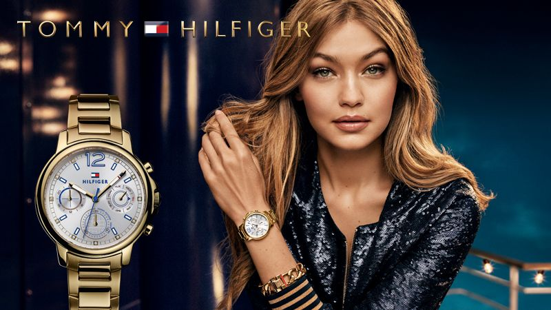 25a3a704464040 Tommy Hilfiger Watches HOLIDAY Campaign with Gigi Hadid