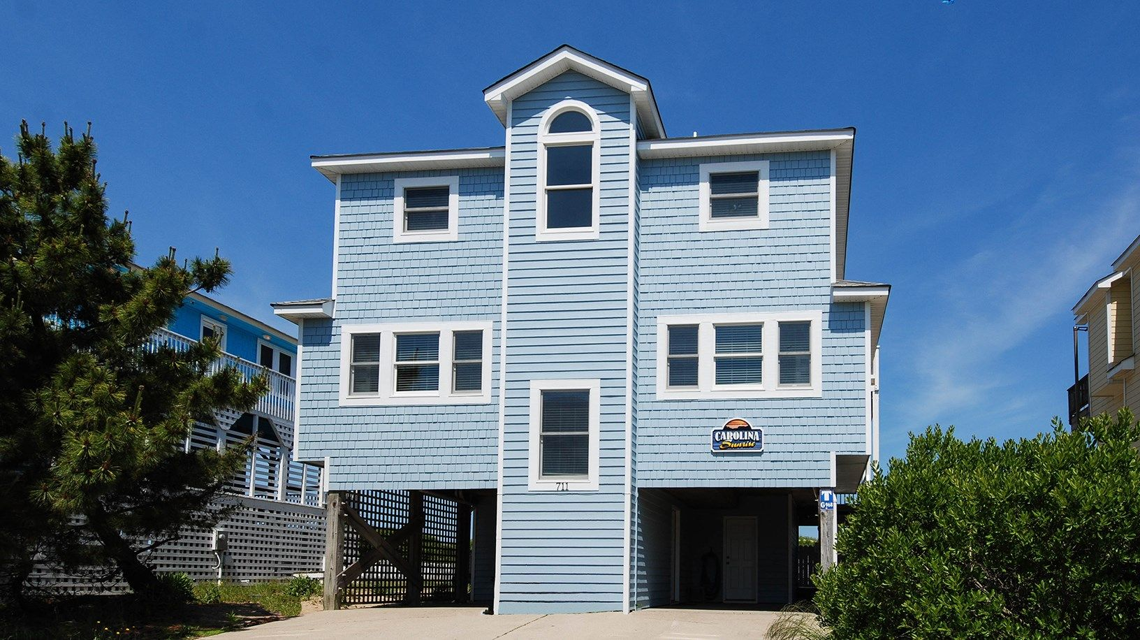 Twiddy Outer Banks Vacation Home Carolina Sunrise Corolla Oceanfront 6 Bedrooms