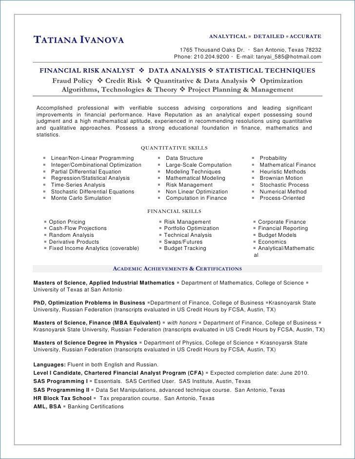Pin oleh Steve Moccila di Resume templates Sample resume cover