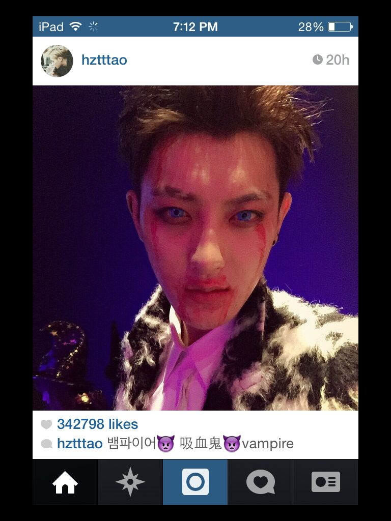 My kind of vampire   Tao / EXO <3   Pinterest   Kind of, Of and ...