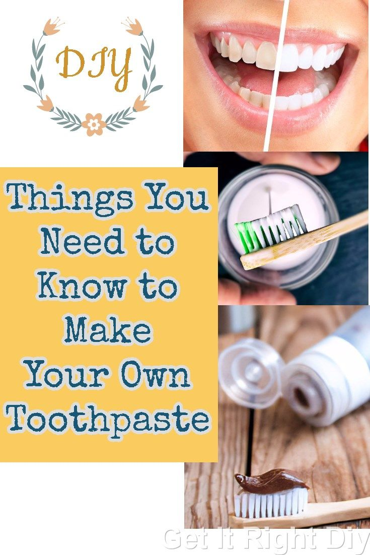 how to.make your own toothpaste
